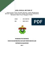Analisis Jurnal Metode IP