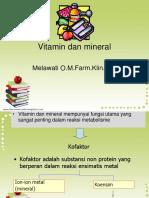 Vitamin Dan Mineral Ok