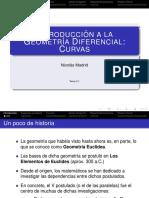 Geometría diferencial - curvas