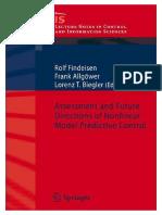Nonlinear Model Predictive Control-Morari