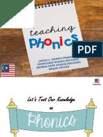 1. Teaching Phonics