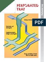 Perforated Tray Catalogue