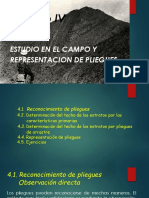 Capitulo 4_ Estudio en El Campo y Representacion de Pliegues