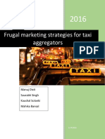 Frugal Marketing Strategies Report