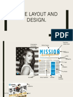 Page Layout and Design