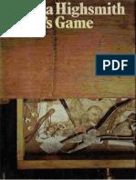 Patricia Highsmith Ripleys Game
