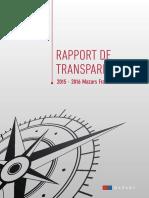 Rapport de Transparence Mazars France 2015-2016 (1)