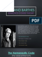 roland barthes semiotics theory