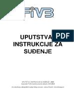 Fivb Uputstva i Instrukcije Za Sudjenje 2009