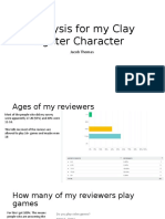 analysis for my clay fighter character