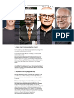 Productivity Lessons From the Giants Zuckerberg, Gates, Nadella, And Buffett