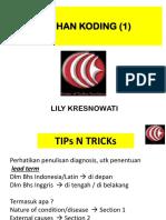 (6) LATIHAN KODING