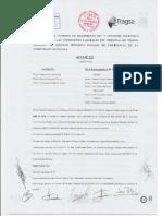 Acta 112 Comisión de Seguimiento V Convenio Colectivo Servicio Brigadas Rurales de Emergencia de la Generalitat Valenciana