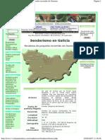 Senderismo en Galicia