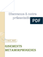 Gites Metamorphogènes _exposé Étudiant