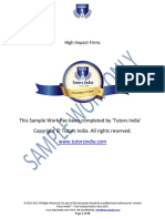 Are you struggling to write a Full Dissertation- Full Dissertation sample in Tutors India