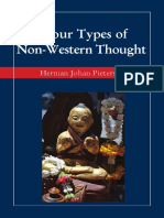 Types of Non-Western Thought by Pietersen
