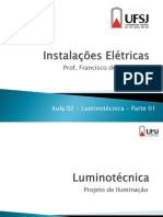 Aula 02 - Luminotecnica