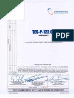 TESP12209R0 حدود الأمان Clearances1