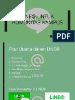 Line@ Untuk Komunitas Kampus