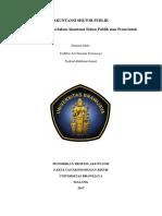 Standar Akuntansi Sektor Publik Atau Pemerintah Di Indonesia (1)