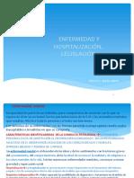4_- Hospitalización y Legislación