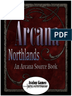 Arcana - The Northlands Source Book