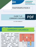 Clase 7 y 8 _corriente Galvanica y Bioseguridad