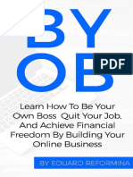 Eduard Reformina BYOB How to Be Your Own Boss PRO
