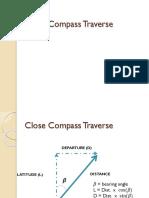 Close Compass Traverse