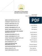 Bank of Baroda v Oakbay Group and Others Final Final Version