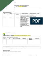 Modelo Planificación 2016- Claudia