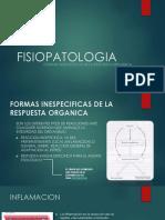 FISIOPATOLOGIA de formas inespecifiicas
