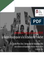 Flyer Pinochet