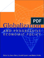 Dean Baker, Gerald A. Epstein, Robert Pollin (eds.) - Globalization and Progressive Economic Policy