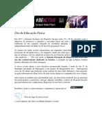 Info SitEscola - Dia Da EdFísica