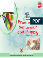 producer behaviour and supply