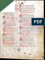 Manuscrito de las Cantigas de Santa María