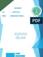 Aqidah Islam UAD