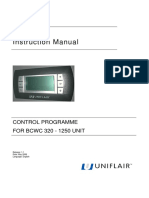 UNIFLAIR BCWC 320to1250 InstructionManual