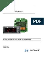 UNIFLAIR_modbus_InstructionManual