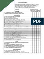 7.Training Evaluation Form[1]