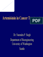 Artemisinin in Cancer Treatment.singh