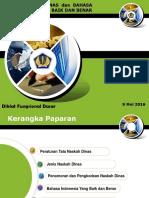 1. Tata Naskah Dinas Dan Bahasa Indonesia