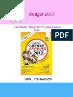 Disha Publication Budget 2017
