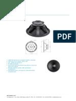 b& C speakers 18TBX100