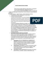 Plan de Trabajo de Keico Fujimori