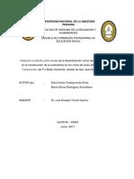 Dramatización y Autoestima Monografia