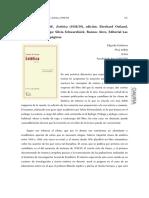 Adorno (Reseña a Clases de Estética de Swarbock)