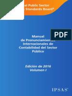 2016 IPSASB HandBook Volume 1 Spanish